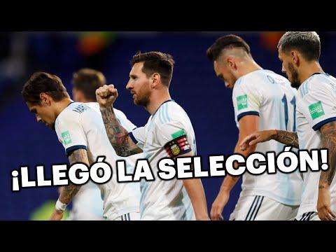 La Selección Argentina ya está en Bolivia | Eliminatorias Sudamericanas