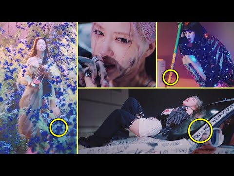 7 Hidden stories You didn't Notice in BLACKPINK Lovesick Girls MV