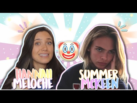 Summer Mckeen and Hannah Meloche laughing at fan edits?! DRAMA on leaked posts thumbnail