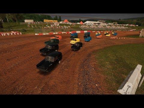 Wreckfest (PC) Rammer RS Vs 23 Supervans At Bloomfield Speedway Figure 8