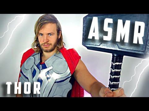 ⚡Thor Does ASMR! ⚡🔨⚡ Ft. Mjölnir ⚡