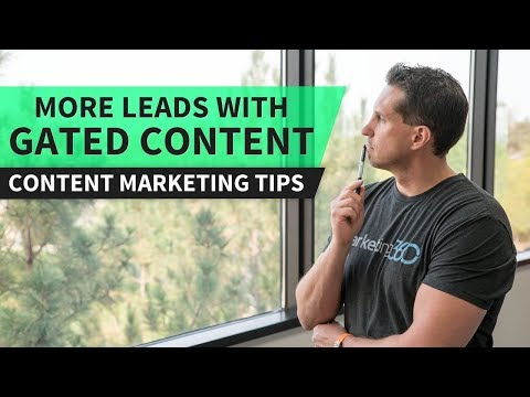 Content Marketing – Get More Leads With Gated Content