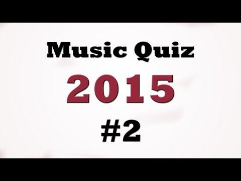 Music Quiz - Music Hits 2015 #2