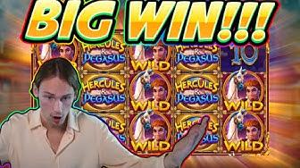 BIG WIN!! Hercules and Pegasus BIG WIN - Slot from Pragmatic - Casino Game from Casinodaddy