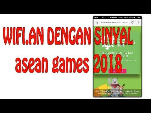WIFI.AN  DENGAN SINYAL ASEAN GAMES 2018 YANG ADA PADA WIFI.ID