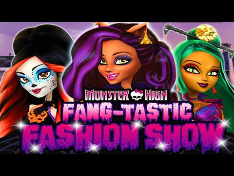 Monster High Games Fang-Tastic Fashion Show Dress Up Game for Girls