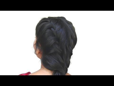 Different Queen Braid Hairstyle for Beautiful Girls||LADIES SPECIAL New Easy Hairstyles of 2018 thumbnail