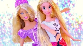 Barbie Dolls Toys ★ Play Doh Barbie Dresses ★ Surprise Eggs Barbie Girl Disney Princess Dolls