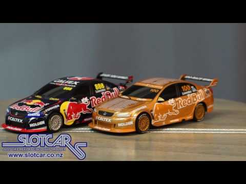 Scalextric Slot Cars V8 Supercar Craig Lowndes 100th 888 Holden C3815A Slotcars