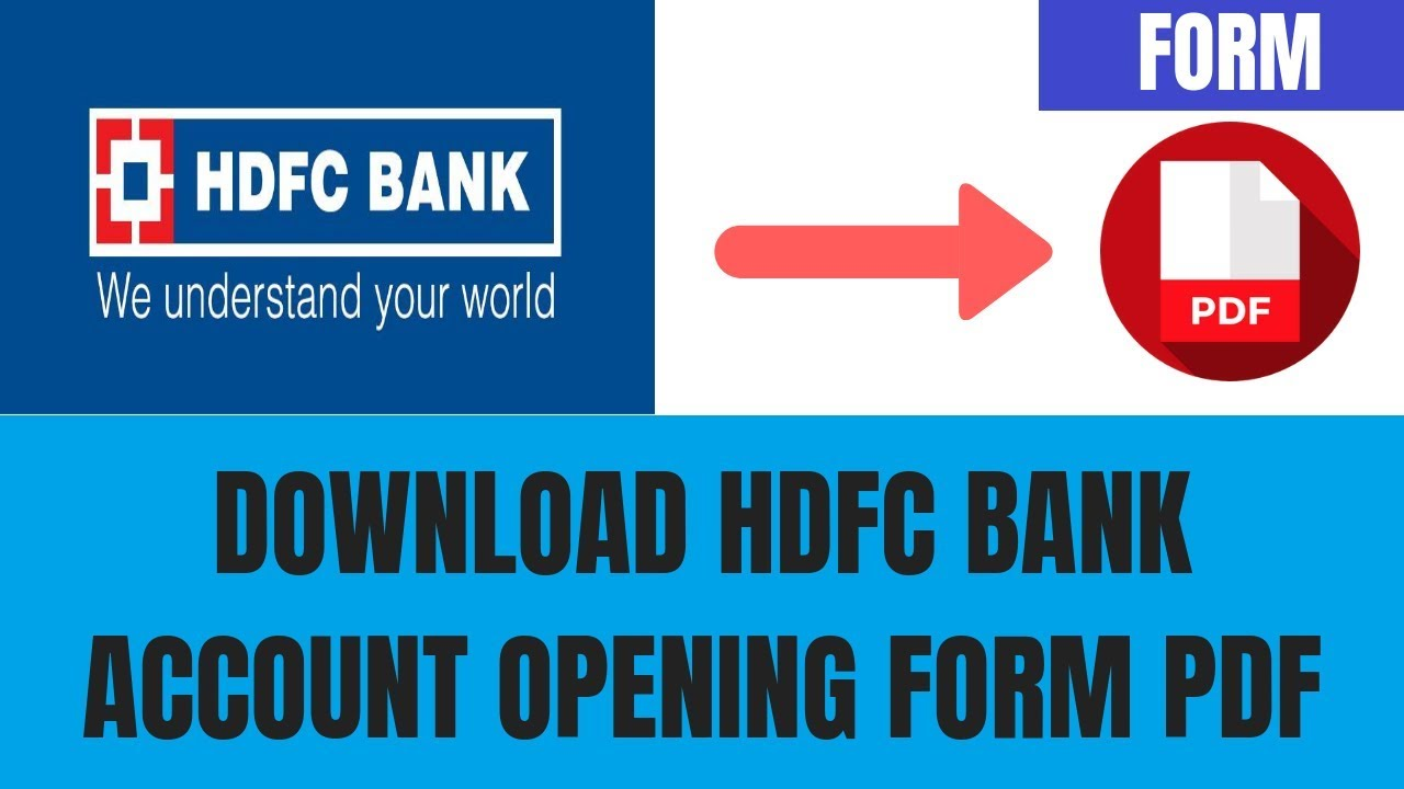 hdfc bank credit card closure form pdf