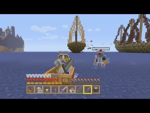 Minecraft Xbox - Quest For The Ark Of The Covenant - Setting Sail - (3)