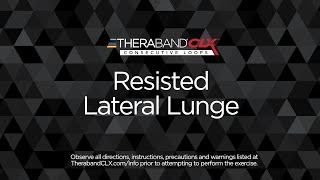 Resisted Lateral Lunge