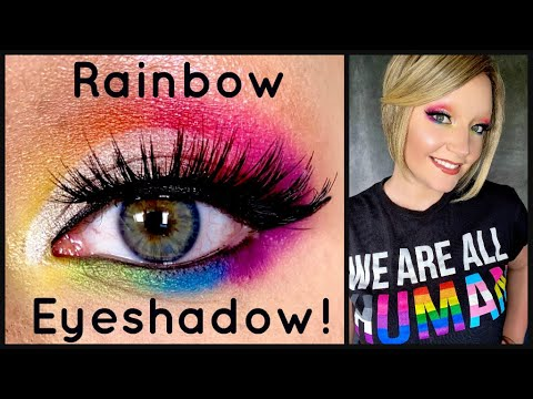Pride Eyeshadow Tutorial 🌈 from YouTube · Duration:  18 minutes 5 seconds