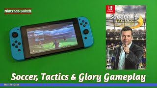 Soccer, Tactics & Glory Switch Gameplay