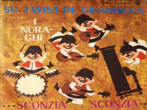 I Nuraghi ♪ Su Twist De Giuannicca (7'' 1964)