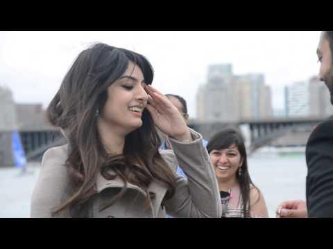 Bollywood Flash Mob Proposal - Boston 2017 (Alysha & Rahim)