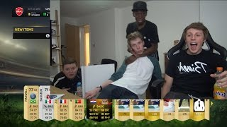 FIFA 15 - HUGE YOUTUBERS PACK OPENING Thumbnail