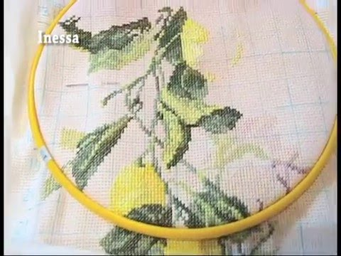 Видеоурок по вышивке крестиком