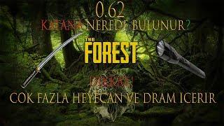 The Forest katana nerde bulunur,elfeneri nerde bulunur?