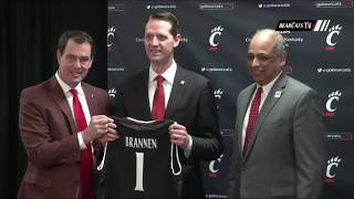 Bearcats Introduce New Men's Basketball Head Coach John Brannen
