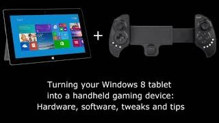 Microsoft Surface Pro 2 + Ipega 9023 + x360ce for Handheld PC Windows 8 Gaming Guide