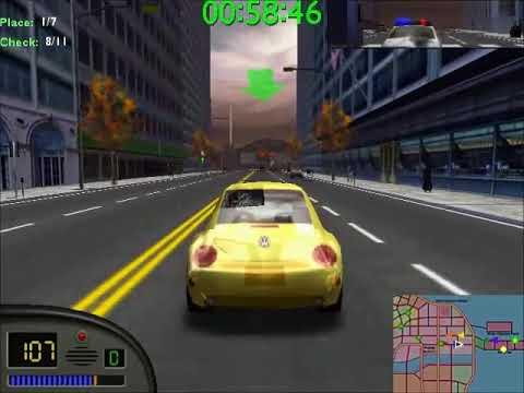 Midtown Madness Unlock Panoz Gtr 1 In 4 Races Youtube