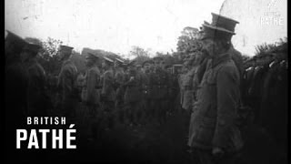 Lord French Inspects Middlesex Regiment (1916)