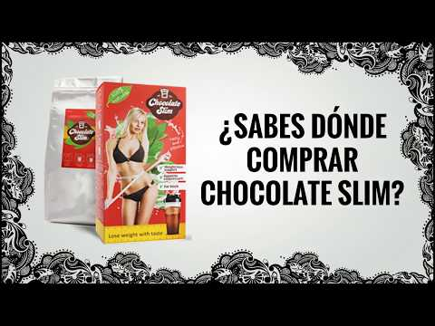 Donde comprar el chocolate slim