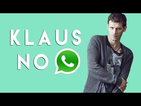 Klaus no Whatsapp