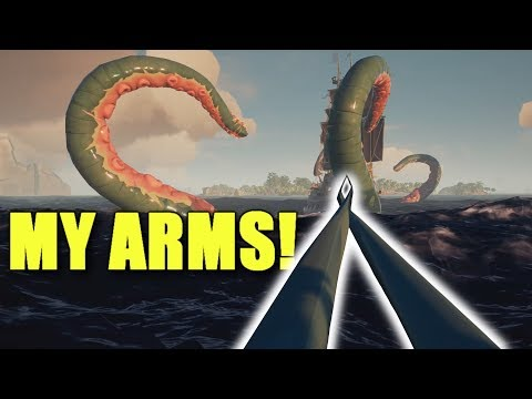 Sea of Thieves - The Kraken Stretched my Arms!