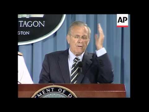Rumsfeld comment on Michael Hayden, CIA Director-nominee