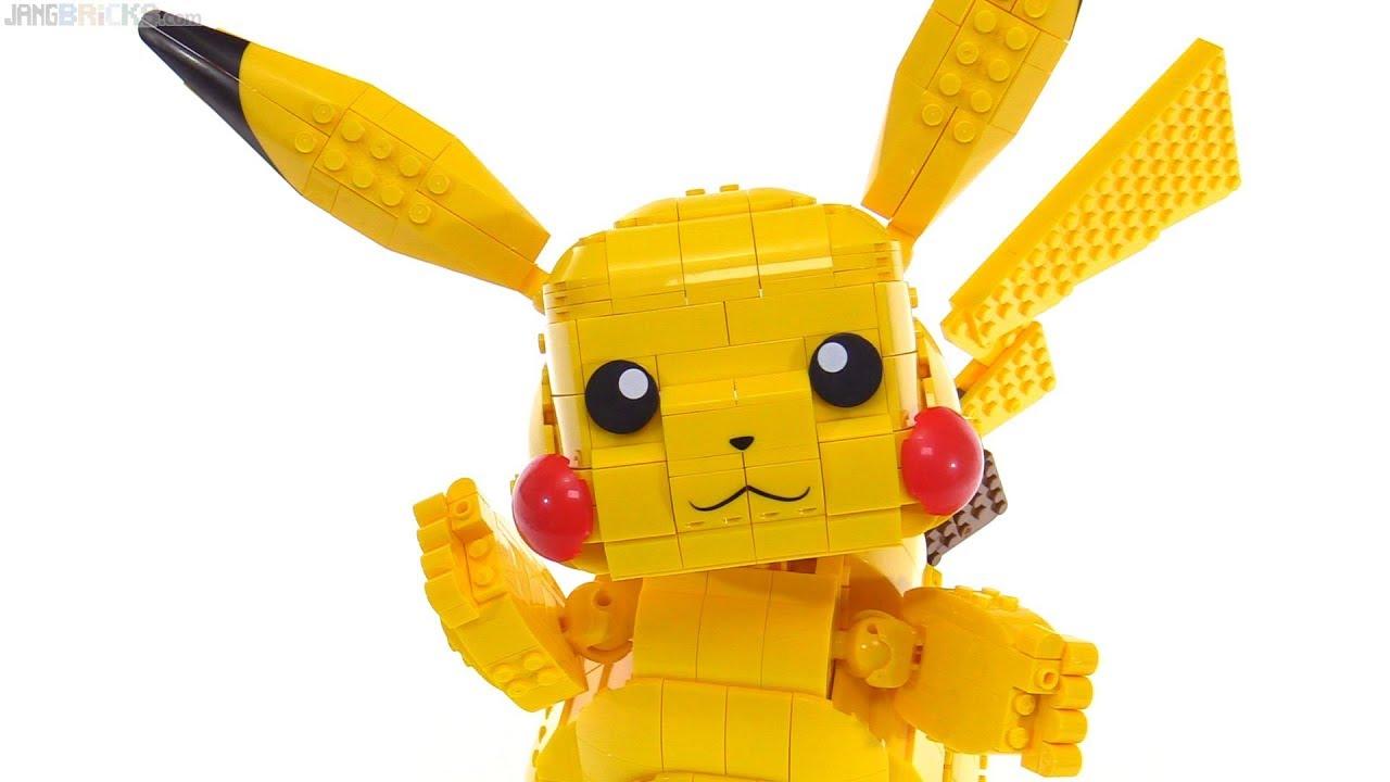 Mega Construx Pokemon Jumbo Pikachu Building Sets