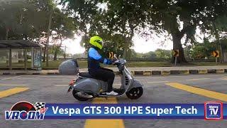 Vespa GTS 300 HPE Super Tech tawar gaya, prestasi dan teknologi