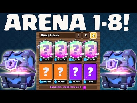 SUPER DECK FÜR JEDE ARENA! || CLASH ROYALE || Let's Play CR [Deutsch/German HD+]