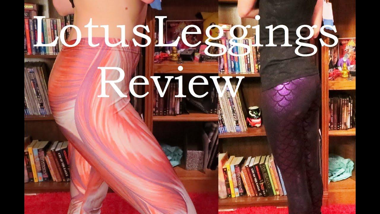 Lotus Leggings Review Attack On Titanmuscle Leggings And Purple