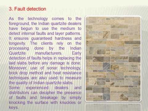 Indian Quartzite Tiles