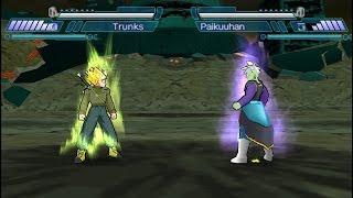 Goku y Trunks Vs. Black y Zamazu (Shin Budokai 2) RECREACIÓN DE BATALLA