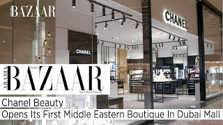 Chanel Beauty's First Middle Eastern Boutique Has Opened In Dubai Mall