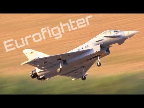 Freewing Eurofighter Flying to Mozart ♫♪ - HD 50fps