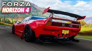 Forza Horizon 4 | Widebody Honda NSX Gameplay [1440p60]