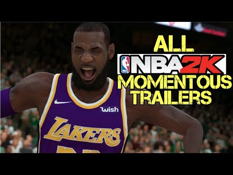 ALL NEXT GEN NBA 2K Momentous Trailer (2K14-2K19)