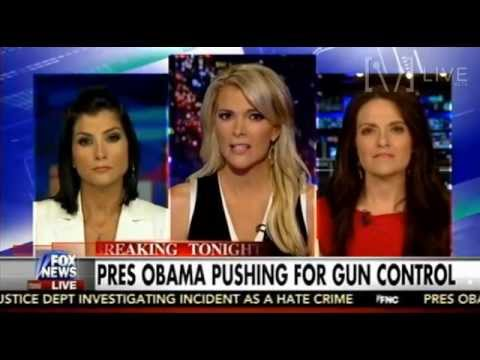 Dana Loesch & Some Lib Chick Debate Gun Control - The Kelly File