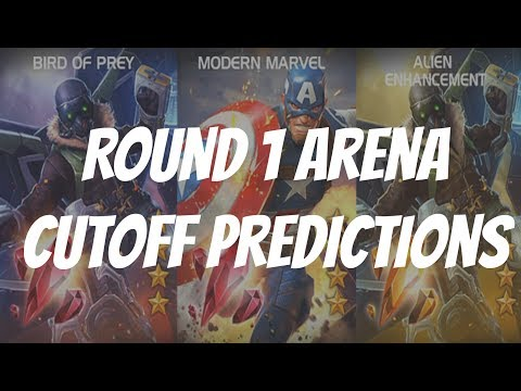 Marvel Contest of Champions Arena Cutoff - Vulture and Captain America WW2 Round 1 Predictions