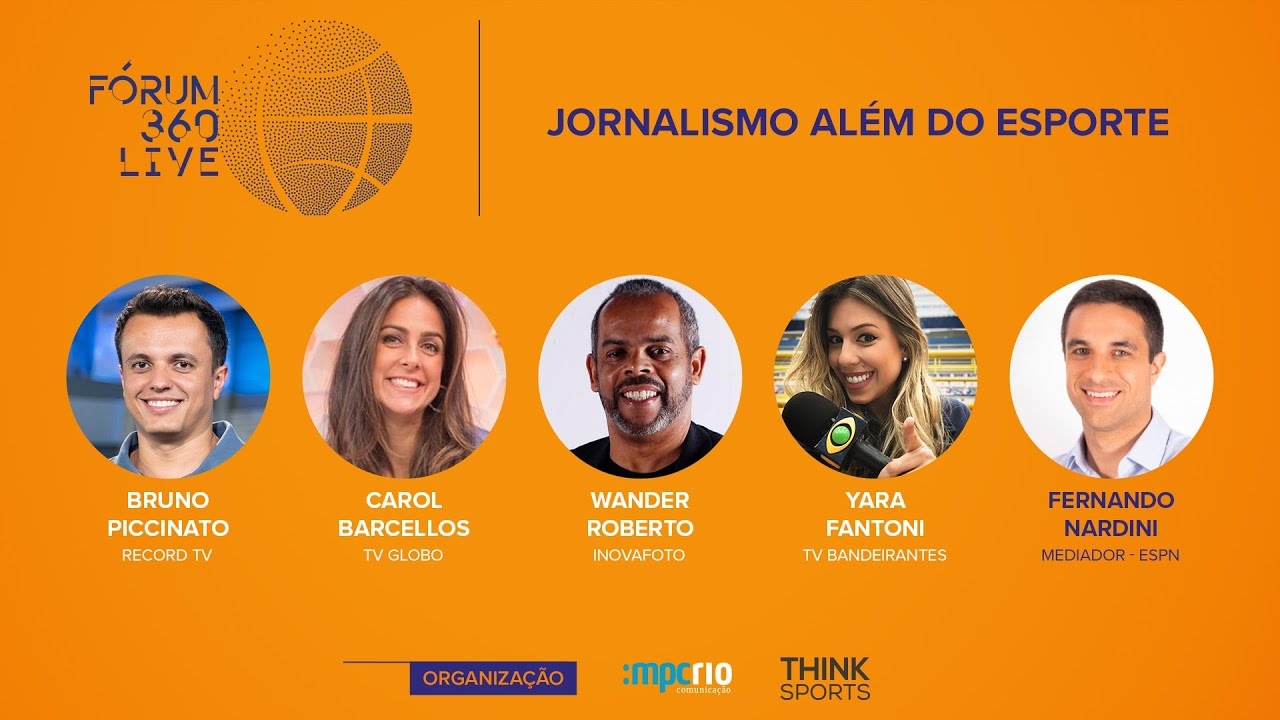 Fórum 360 Live - Jornalismo Além do Esporte