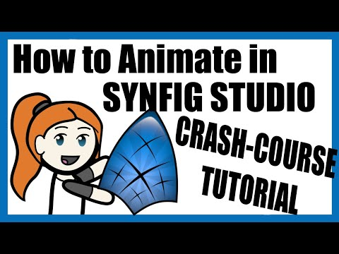 How to Animate using Synfig Studio (Quick Tutorial, Free program)