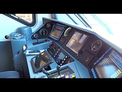 """[HD - Treni] In Cabina del Treno ETR 425 """"Jazz ♪♪♪"""" TRENITALIA + Spiegazione Tecnica Macchinista"""