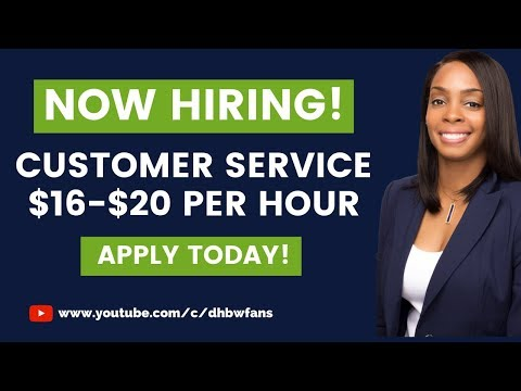 NEW! Get Paid $16-$20/hr. Work from Home Customer Service Jobs Open Now!