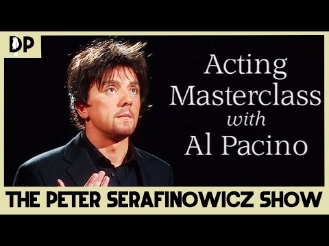 Acting Masterclass with Al Pacino - The Peter Serafinowicz Show | Dead Parrot