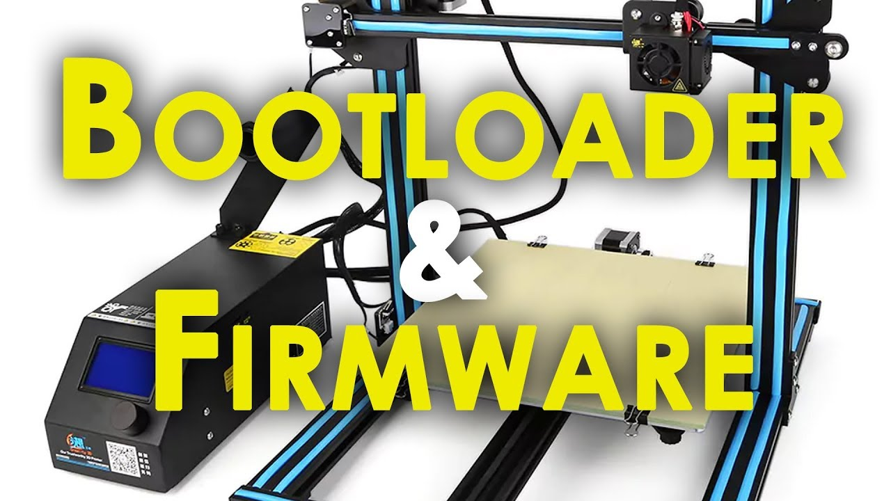 CR-10 UPGRADE - GUIDE on flashing Bootloader and Custom Firmware for the  E3D Titan Aero Upgrade