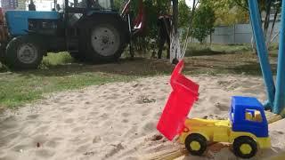 Начало строительства детского сада в Набережных Челнах